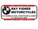 Ray Fisher Motorcycles Christchurch Dealer Decals Transfers  DDQ13